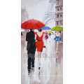Hand-Painted Modern Oil Painting Wall Art Reproduction
