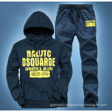 Men Silk Screen Print OEM Hoodies and Pants