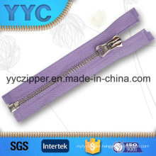 O/E Custom Aluminum Metal Zipper for Coat