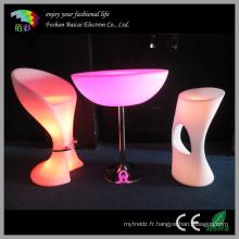 Tabouret de chaise en plastique PE en plastique