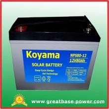 80ah 12V Solar Battery