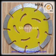 Diamante prensado caliente la hoja de sierra para corte de concreto mármol granito