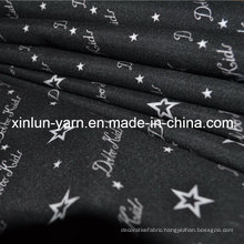 Print and Dyed Line Ramie Fabric for Bag