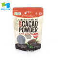 Cacao Poeder Verpakking Zak Voedsel Rits Pouch