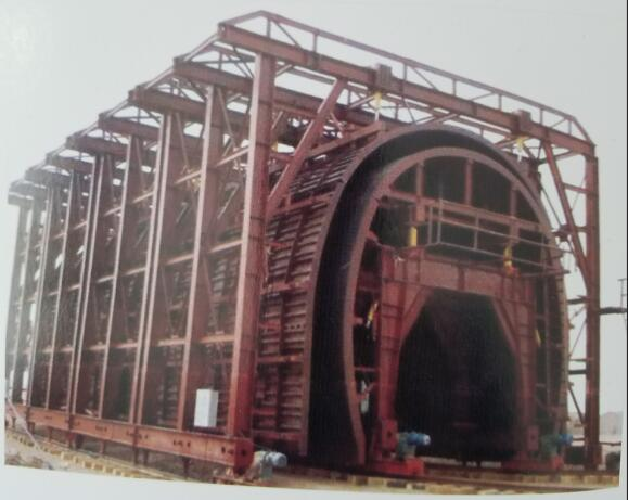 Tunnel Trolley for Moulds