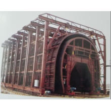 Double Trolley Liner of Open Cut Tunnel Trolley