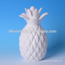 Piña de cerámica de alta calidad de decoración para el hogar