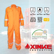 Vêtements de travail en coton résistants au feu, à l'épreuve du temps, à la mode