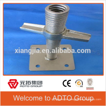 Scaffolding threaded mini screw jack manufacturer in China to africa