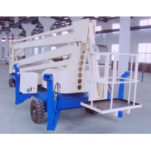 160kgx10m Telescopic Boom Lift Work Platform