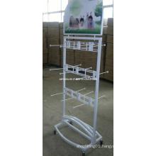 Metal & Stainless Steel &Acrylic Socks Display Rack Stand