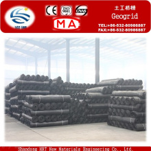 Manufacturer PP Pet Plastic Biaxial Fiber Geogrid