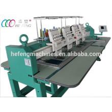 4 cabezas 9 colores automatizados máquina de bordado plana