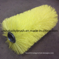 Nylon or PP Material Yellow Broom Roller Brush (YY-005)