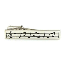 Men's Vintage Music Instrument Tie Clip