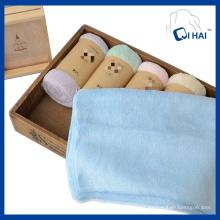 Toalha de veludo de algodão 100% (qh8891211)