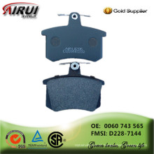 NOA, almofadas de freio de disco, qualidade de OE, autopeças (OE: 443 698 151 C / FMSI: D290-7143)