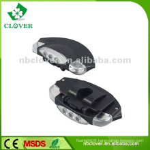 Led headlight made in china 3 led cordless mining cap lights