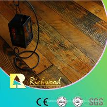 8.3mm E1 HDF AC3 Embossed Oak V-Grooved Laminate Floor