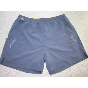 Yj-3019 Black Elastic Stretch Quick Dry Athletic Gym Shorts Mens