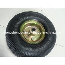 Utilisation pneumatique de roue pour le chariot, brouette