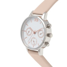 Chronograph Design Watch 24 Hours Ladies Watch