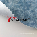 Denim Style Pattern Bedruckter elastischer Stoff Strickstoff
