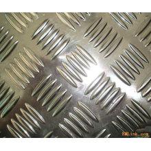 5052 Dos barras de chapa de aluminio