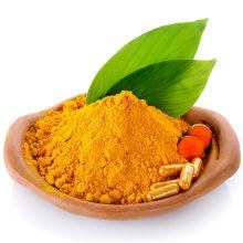 Poudre naturelle d'extrait de curcuma 95% Curcumine Capsules de curcumine
