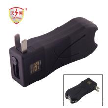 Мини высокое напряжение красочный электрошокер дубинка (ТВТ-398)