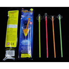 Event & Party Supplies Type Glowing Plastic Drink Stirrers for Party