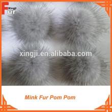 Wholesale Real fur Mink Pom Poms
