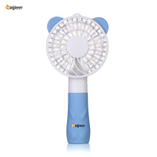 Bear Portable USB recarregável Mini Desk Handheld Fan