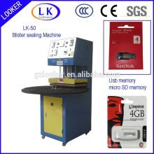 CE usine prix plaque tournante blister machine de cachetage