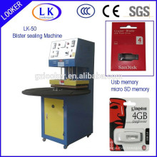 CE Factory price Turntable blister sealing machine