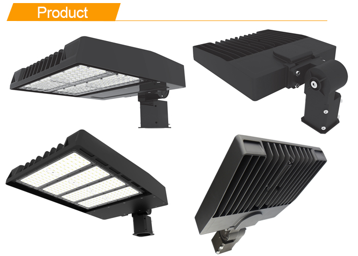 140LM/W Led Parking Lot Lighting