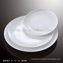 Four à porcelaine blanc durable et sain coffre-fort à sable argenté