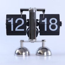 Balance Double Feet Table Flip Clock