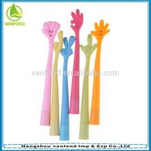 mejores productos novedosos para venden divertida pluma promocional con muchos diseño para la selección