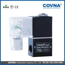 2V025-06 08 válvula solenóide de duas vias DC24V válvula de comutação solenóide AC220V 2/2 normalmente fechada