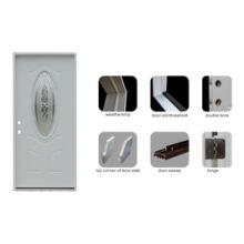 American Prehung Steel Door with Aluminum Door Threshold