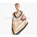 Inverno grande tamanho neckwarmer lenço de seda sexy sarja tecido xaile