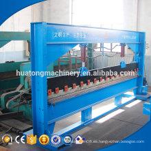 Buena calidad hoja de acero placa manual precio de la máquina dobladora