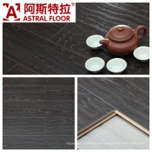 AC3 / AC4 Impermeável (U-groove) Onda em relevo superfície de carvalho Laminate Flooring (AB9922)