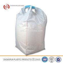 deux-boucle côté levage jumbo sac cercle grand sac orange haut remplissage bec échantillon gratuit