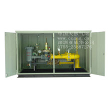 Natural gas metering station