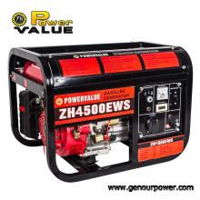 Générateur d'essence de la valeur 3500W 3.5kVA, générateur 3.5kw Afrique du Sud