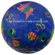 Four Colors Rubber Kickball Toys