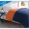 Ensemble de literie en polyester colorblock orange indigo