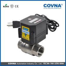 Válvula de cierre de agua eléctrica con buena válvula de cierre de precio eléctrico